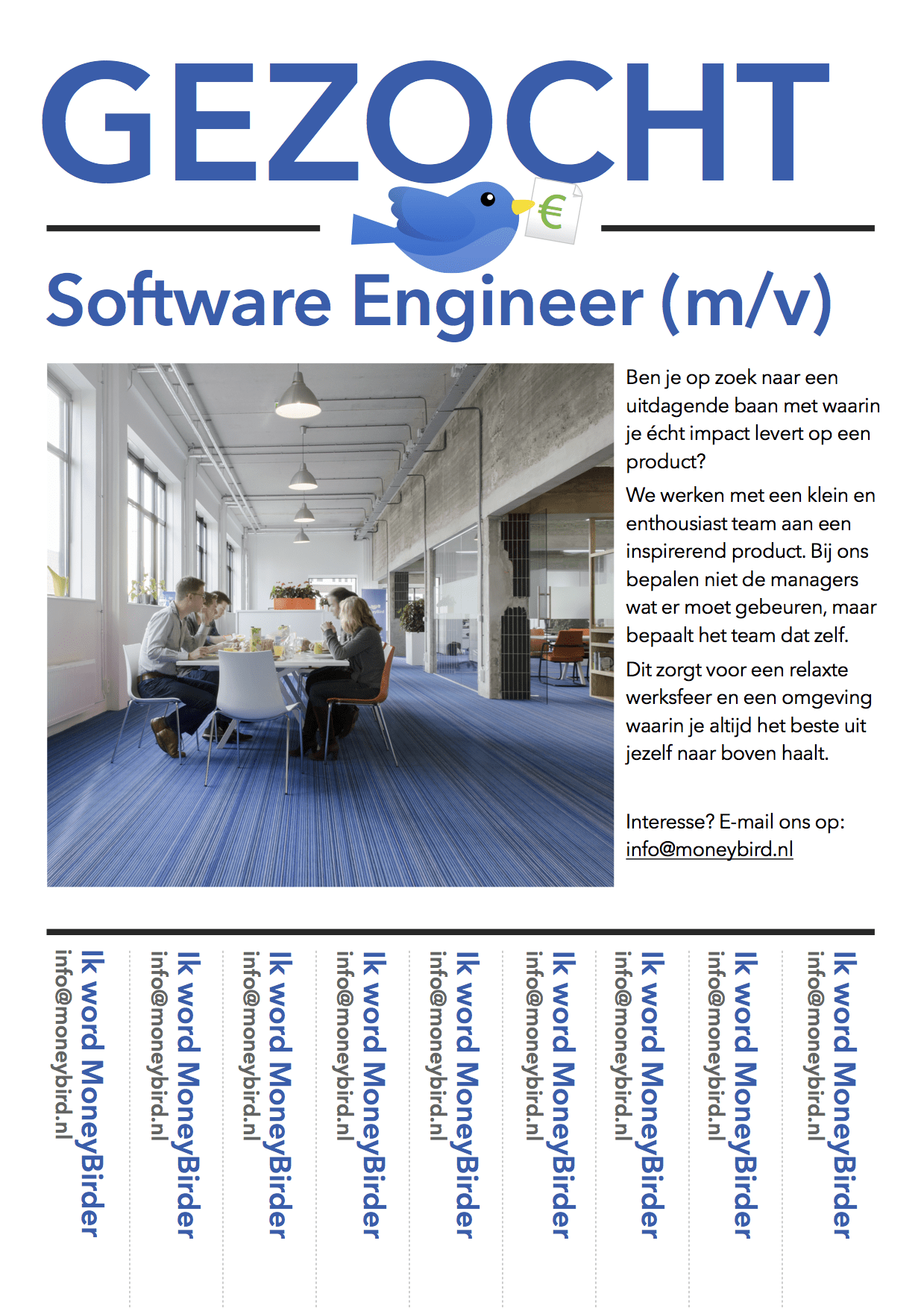 Gezocht: Software Engineer